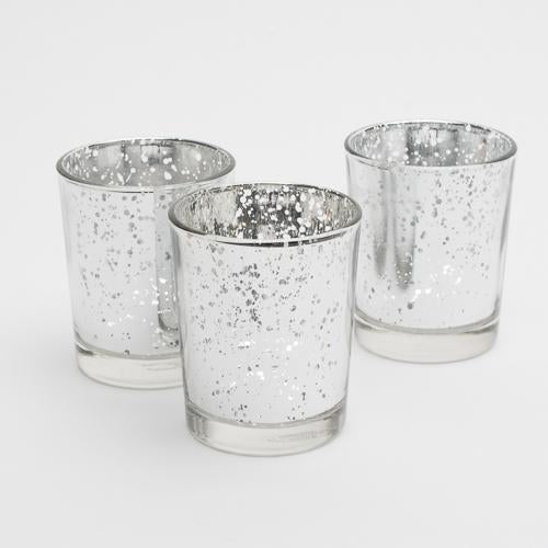 votive mercury holders set 12