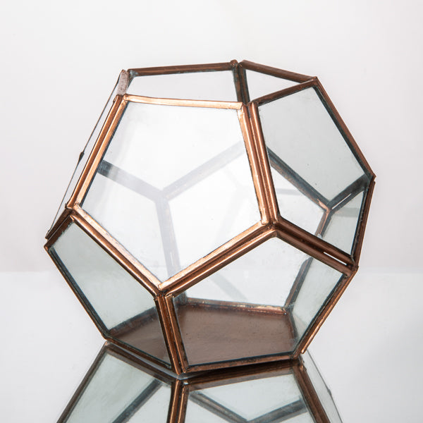 "Display Dodecahedron 4.4"" Copper"