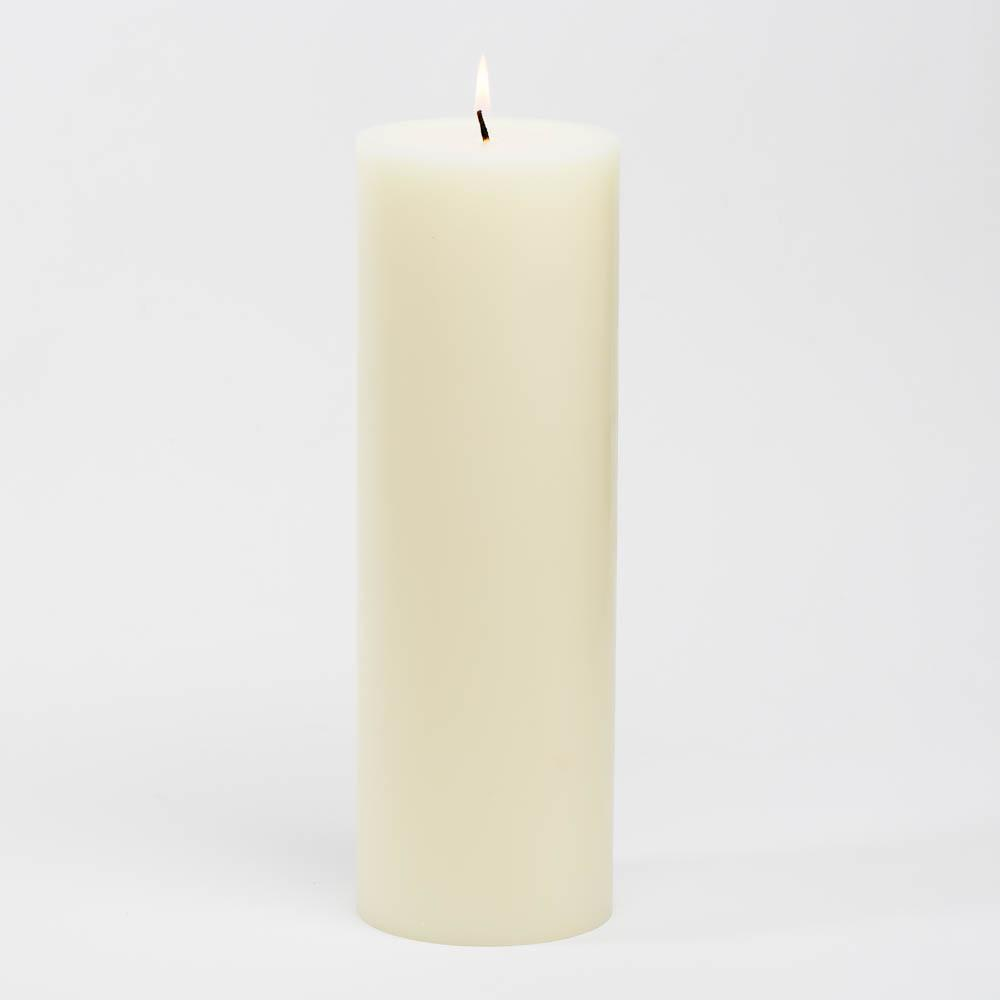 richland 4 x 12 ivory pillar candle