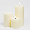 richland 4 ivory pillar candles set of 3