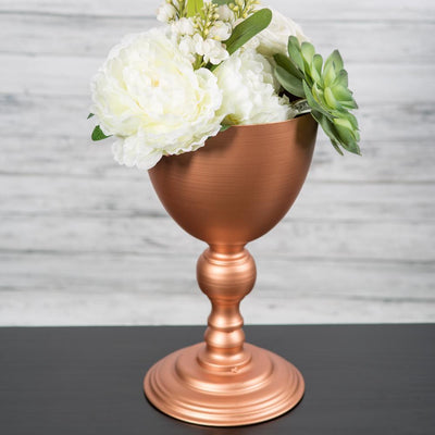 Richland Copper Finish Goblet - Medium Set of 4