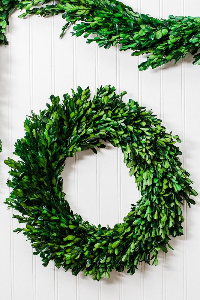 richland preserved boxwood wreath 17