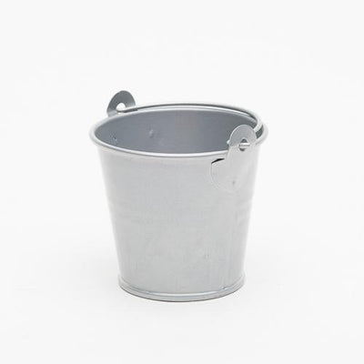 "Richland 2"" Iron Favor Bucket, Silver Set of 100"