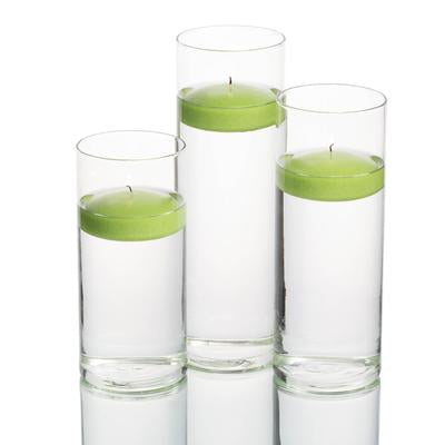 Richland Floating Candles & Eastland Cylinder Holders Set of 8