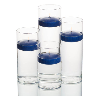 richland floating candles eastland cylinder holders set of 48