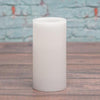 richland flameless led pillar candle 3 x6 white