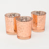 Richland Rose Gold Mercury Votive Holder Set of 12