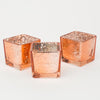 Richland Rose Gold Mercury Square Votive Holder Set of 72