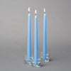 "Richland Taper Candles 10"" Light Blue Set of 50"