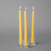 "Richland Taper Candles 10"" Yellow Set of 50"