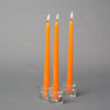 "Richland Taper Candles 10"" Orange Set of 50"