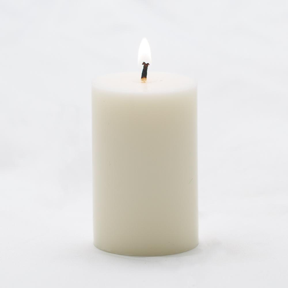 richland pillar candle 2 x3 light ivory set of 20