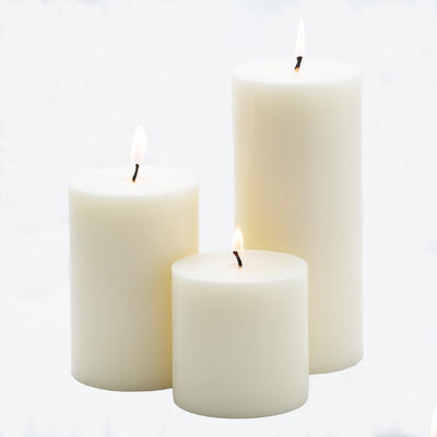 richland 4 x 6 light ivory pillar candle