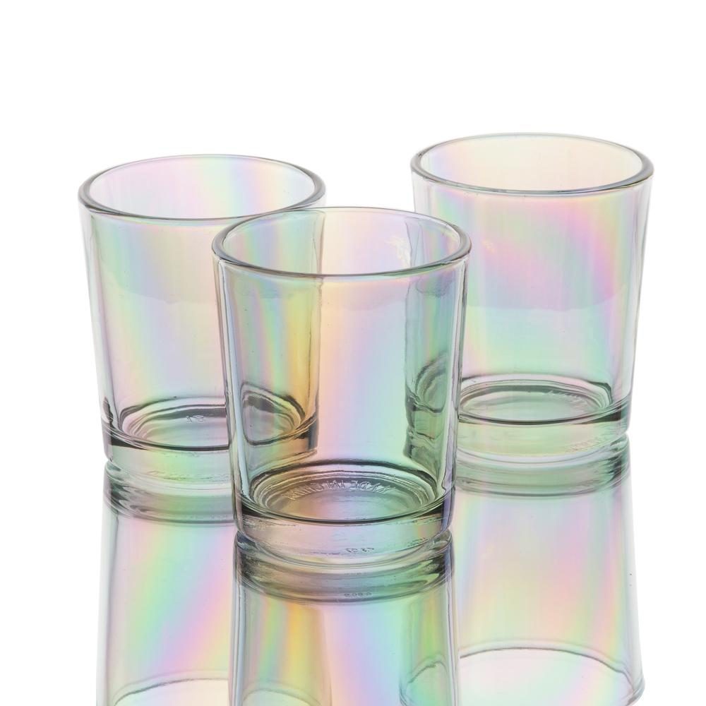 richland iridescent votive candle holder set of 12