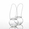 richland bubble hanging glass vase set of 12