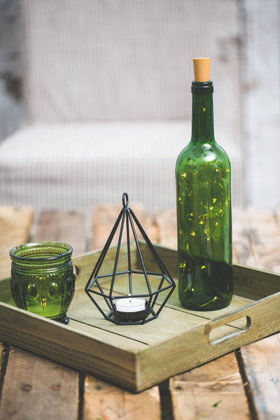 Richland LED Wine Cork String Light - Amber Set of 12