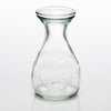 richland glass bud vase clear teardrop set of 12