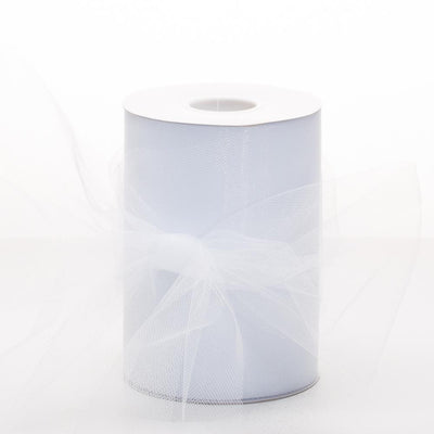 richland tulle roll 6 x 100 yards wedding white