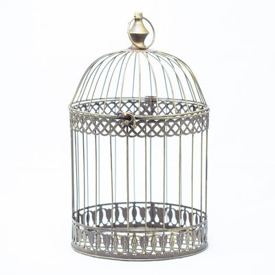 richland sudie bird cage dusted brass set of 3