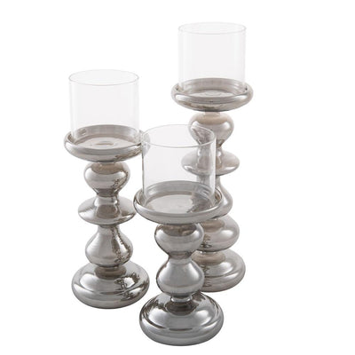 richland modern dusk candle holder set of 3