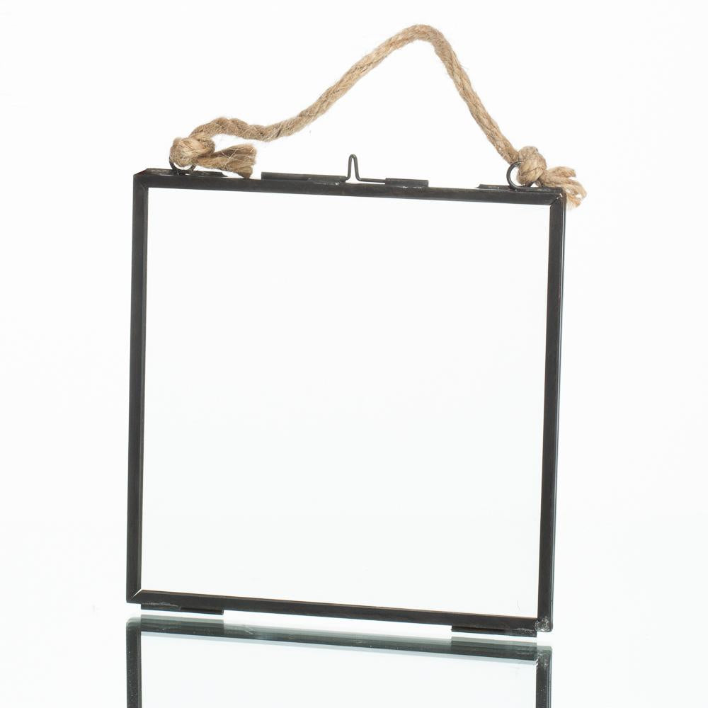 richland metal hanging photo frame 6 x 6 25 set of 6