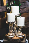 Richland Rayner Mercury Pillar Candle Holder 8""