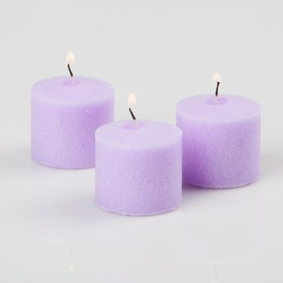 richland votive candles unscented lavender 10 hour set of 144