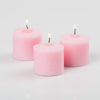 richland votive candles unscented pink 10 hour set of 12