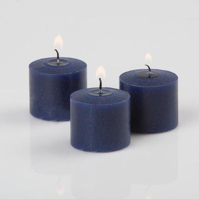 richland votive candles navy blueberry scented 10 hour set of 144