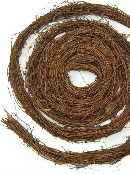 natural grapevine garland 15ft