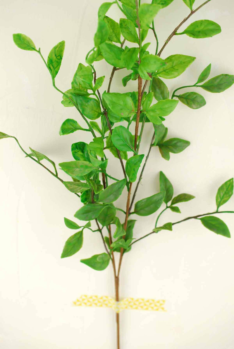 Artificial Foliage Nandina Branch 28in