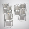 eastland square votive candle holder set of 36