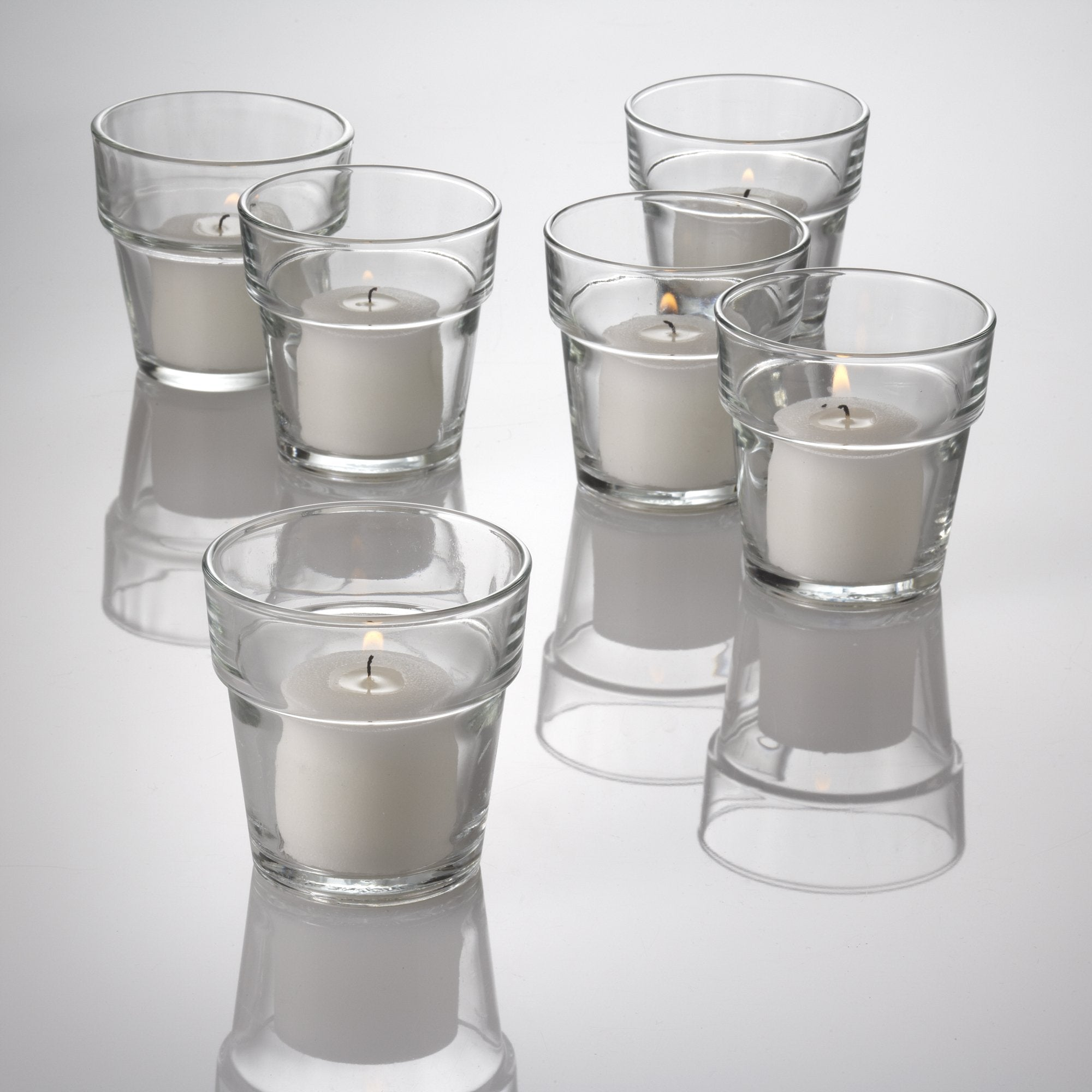 eastland flowerpot votive candle holder set of 12