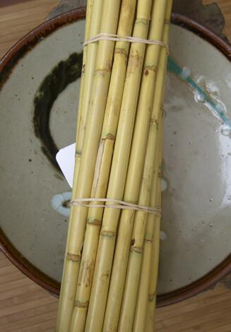 Bamboo Poles 12 Pack 24in Natural