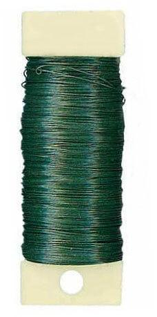 Floral Wire Green Paddle Wire 26 Gauge, 4 oz.