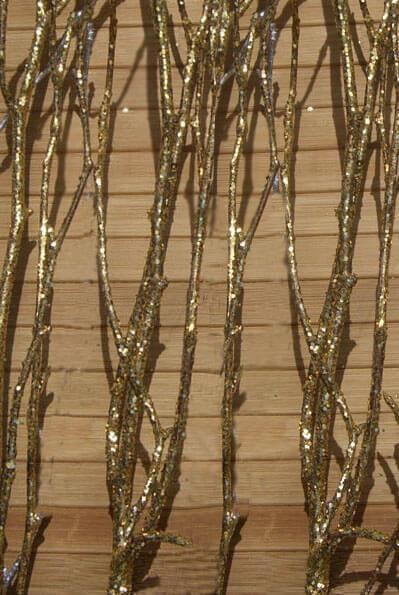 Gold Natural Birch Tree Branches 3-4ft