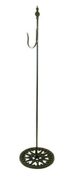 Shepherds Hook - Black Free Standing Wrought Iron 30in