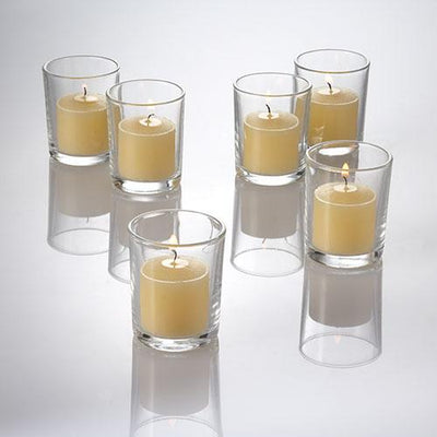 richland votive candles unscented ivory 10 hour set of 144