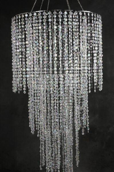 four tier crystal chandelier 77