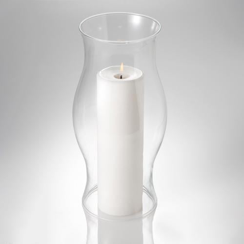 "Eastland Hurricane Pillar Candle Lamp 11.5"" Set of 6"
