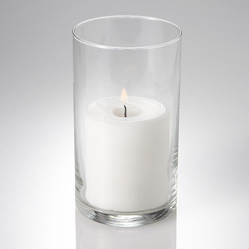 "Eastland Cylinder Pillar Candle Holder 3.25""x6"""