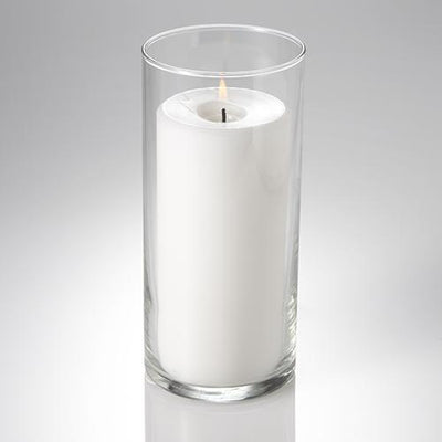 eastland cylinder pillar candle holder 3 25 x7 5