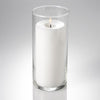 eastland cylinder pillar candle holder 3 25 x7 5 set of 12