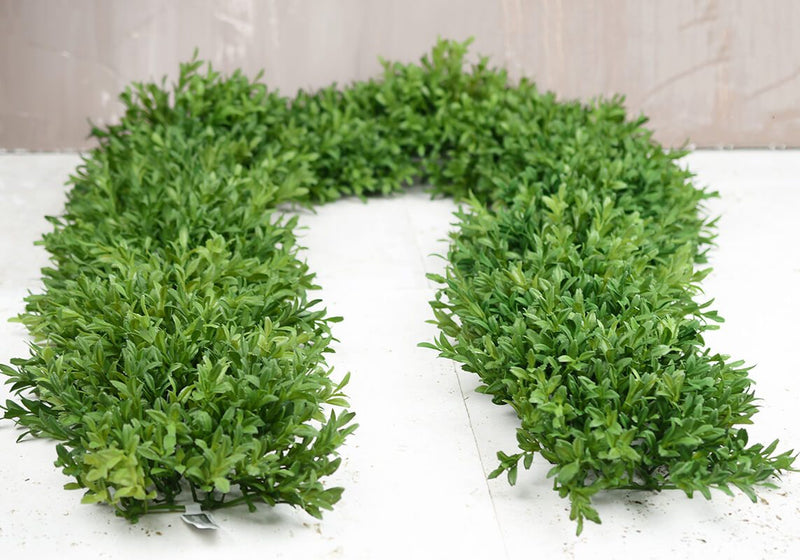 tea leaf mat garland 8 x6 ft