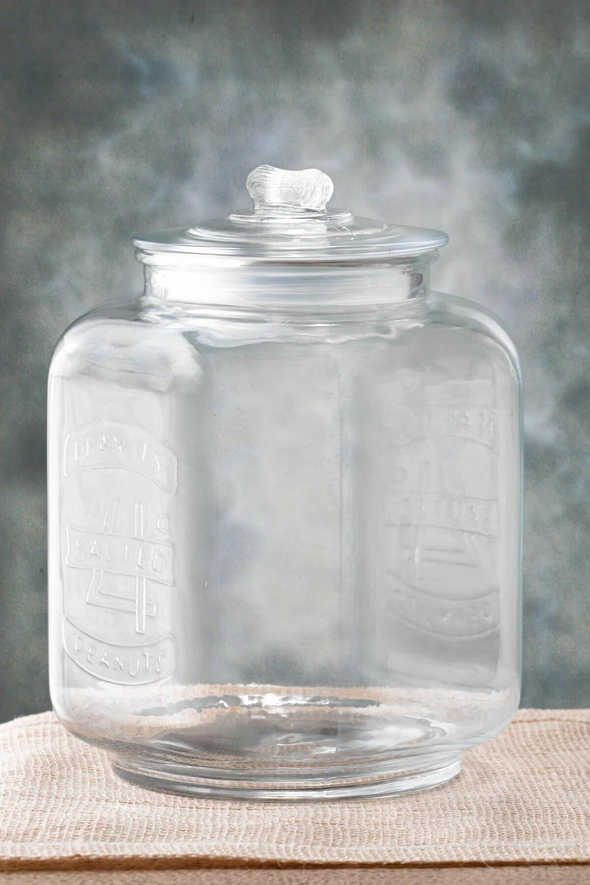 Glass Cookie Jar Medium 7-3/8 x 10in