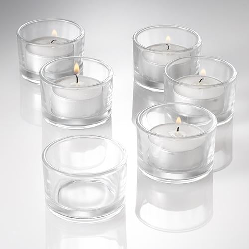 Eastland Tealight Candle Holder Set Of 72 Quick Candles
