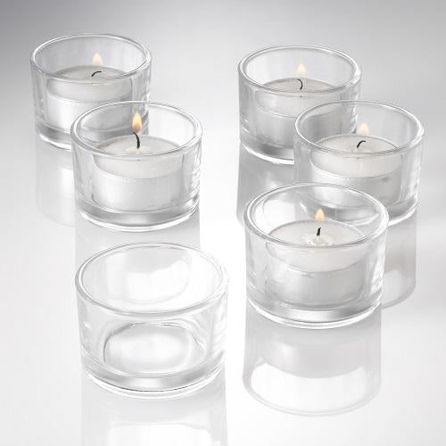 Richland Tealight Candles & Eastland Tealight Holders Set of 96