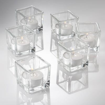 Richland Tealight Candles & Eastland Tealight Holders Set of 48