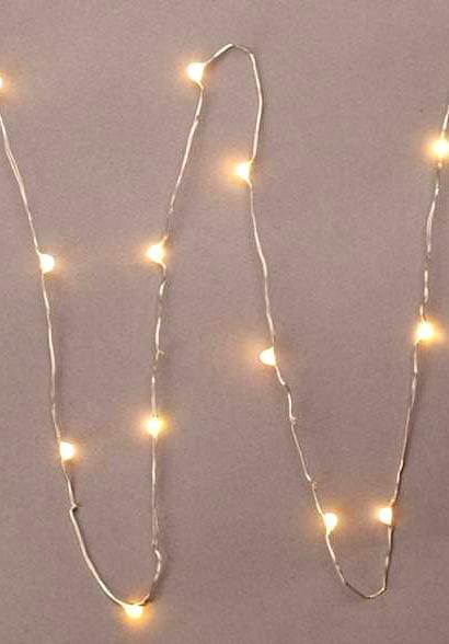 everlasting glow led micro light string 18 warm white 36 battery operated