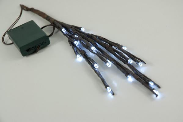 lighted branches 17 brown battery operated